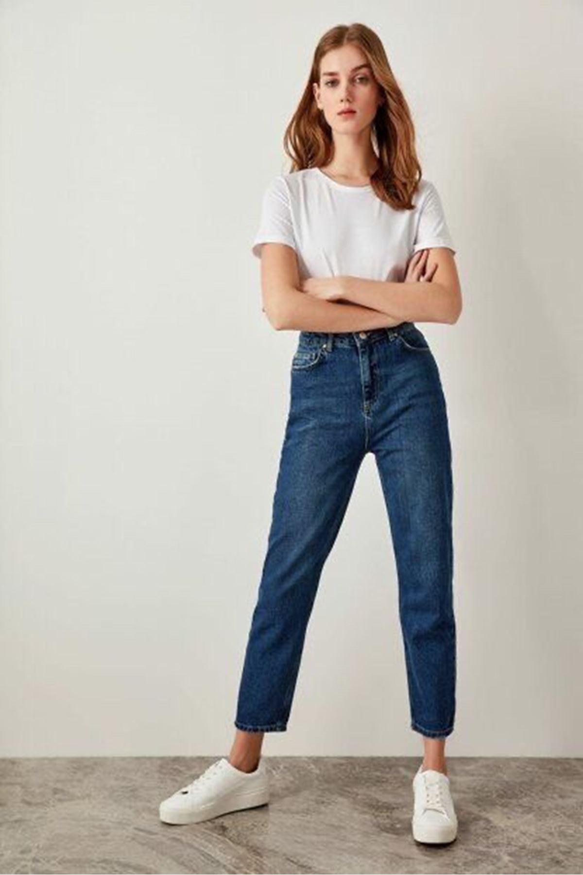 Jean pantolon - Koyu Mavi