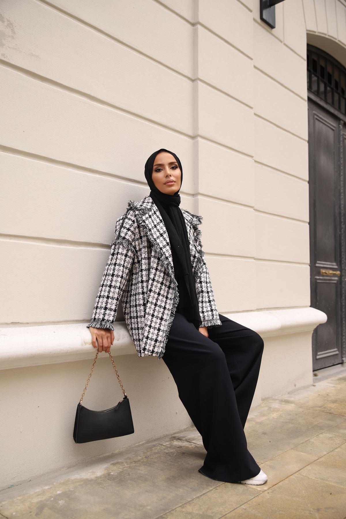 Tüvit Ceket - Siyah